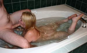 Совместная ванна с женой - фото #27