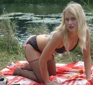Хорошенькая блондинка Мария - фото #32
