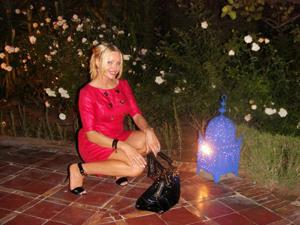 Сексуальность милфы блондинки - фото #20