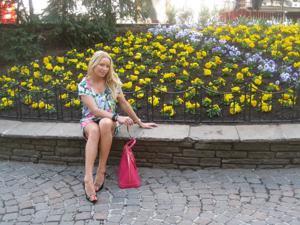 Сексуальность милфы блондинки - фото #8