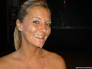 Лиза качественно сосет и любит сперму - фото #5