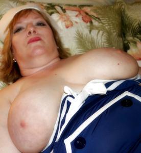 Толстячка морячка