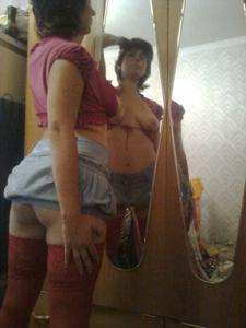 Русская милфа сильно хочет секса - фото #13