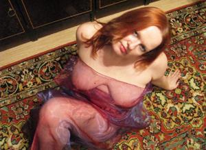 Морщинистая попка рыжей милфы - фото #43