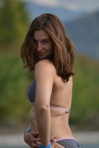 Спортсменка Настя в купальнике - фото #18