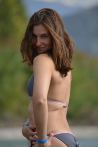 Спортсменка Настя в купальнике - фото #20