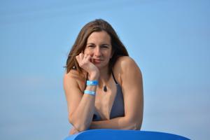 Спортсменка Настя в купальнике - фото #43