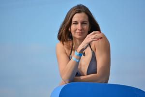 Спортсменка Настя в купальнике - фото #44