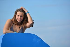 Спортсменка Настя в купальнике - фото #45