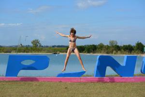 Спортсменка Настя в купальнике - фото #59