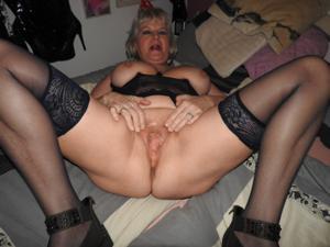Пожилая толстушка Анджелика - фото #9