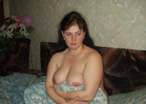 Грудь русской сочной бабенки - фото #8