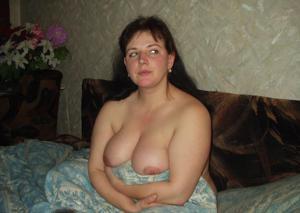 Грудь русской сочной бабенки - фото #9