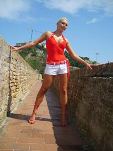 Красивая блондинка Света - фото #14