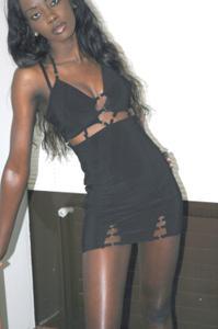 Африканская секретарша светанула трусики - фото #12