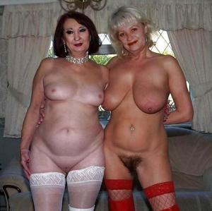 Сексуальные и голые старушки - фото #45