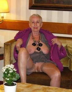 Сексуальные и голые старушки - фото #57