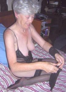 Сексуальные и голые старушки - фото #62