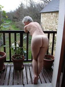 Сексуальные и голые старушки - фото #64