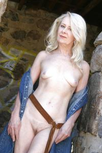 Сексуальные и голые старушки - фото #72