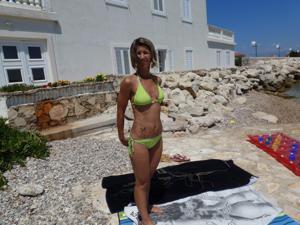 Она не была особенно откровенно в отпуске - фото #44
