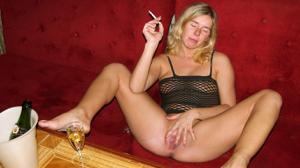 Пьяная Ивонна устраивает шоу - фото #10