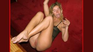 Пьяная Ивонна устраивает шоу - фото #22