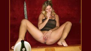 Пьяная Ивонна устраивает шоу - фото #24