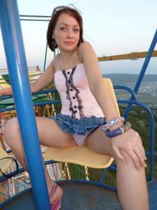 Худая россиянка без комплексов - фото #16