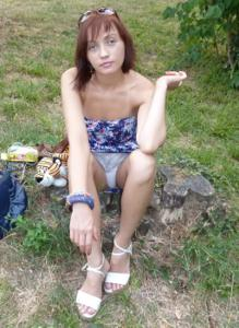 Худая россиянка без комплексов - фото #45