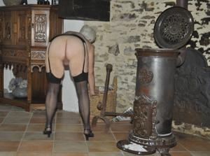 Сладкая пожилуха хочет шалостей - фото #11