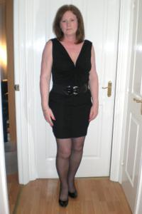 Зрелая женщина в нижнем белье и без белья - фото #5