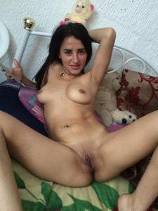 Колумбийка любит когда кончают на нее