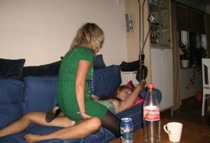 Очень пьяные телки - фото #6