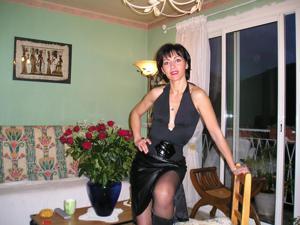 Прикольная худая милфа затейница - фото #40