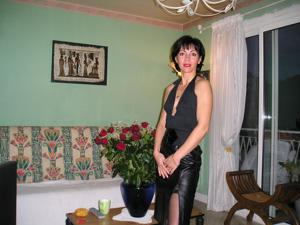 Прикольная худая милфа затейница - фото #43
