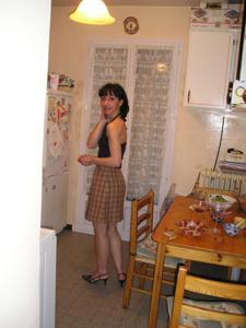 Прикольная худая милфа затейница - фото #64