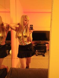 Возбуждающая блондинка с прелестной грудью - фото #42