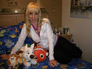 Возбуждающая блондинка с прелестной грудью - фото #61