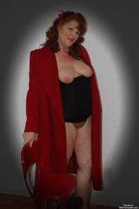 Голые рыжие зрелки - фото #44