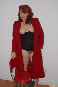 Голые рыжие зрелки - фото #45