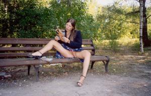 Ретро подборка горячих кадров из жизни молодой нимфоманки - фото #2