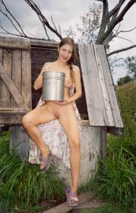 Ретро подборка горячих кадров из жизни молодой нимфоманки - фото #29