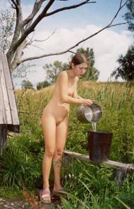 Ретро подборка горячих кадров из жизни молодой нимфоманки - фото #30