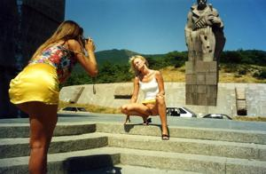 Ретро подборка горячих кадров из жизни молодой нимфоманки - фото #39