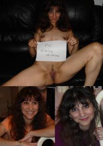 Зрелая худышка светит вагиной и небольшими титьками - фото #44