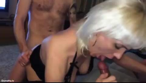МЖМ с женой блондинкой